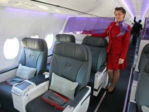Best of the best: Virgin Australia Business Class and cabin crew article image