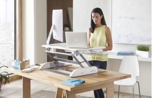 Stand and deliver: How a Varidesk can boost health – and work output  article image