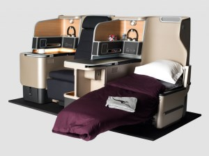 Qantas offers reclining seats during take-off and landing  article image