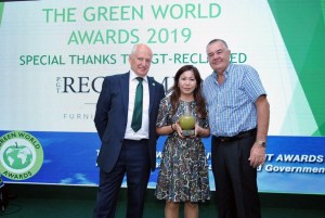 Aussie sustainable furniture maker strikes gold at Green World Awards article image