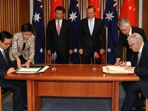 Australia signs landmark trade agreement with China article image