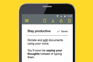 Nuance's speech recognition software goes mobile article image